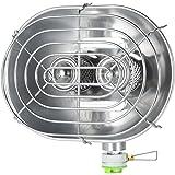 BRS cocina de gas calefacción de diadema H22 doble para invierno Outdoor Camping Fishing Warmer