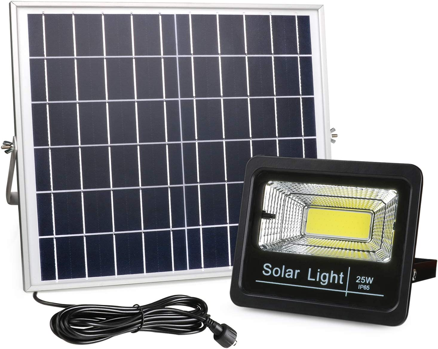 Amazon Com New Version Solar Flood Lights Outdoor Dusk To Dawn Awanber 1100 Lumens 3 Optional Modes Led Remote Control Solar Security Lighting Fixture For Garden Garage Pathway Pool Deck Yard Street Home
