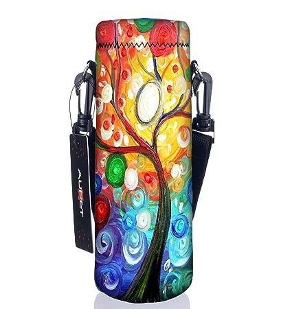 traelo yaaupet water bottle carrier,insulated neoprene wate