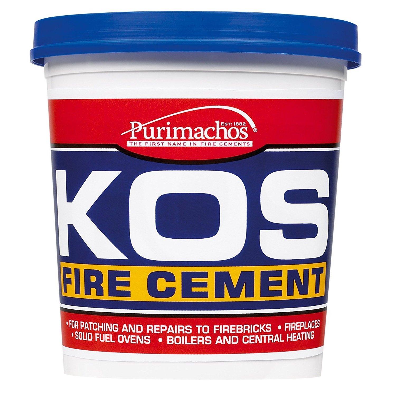 Everbuild KOS Fire Cement - 1Kg - Black - 1 Pack