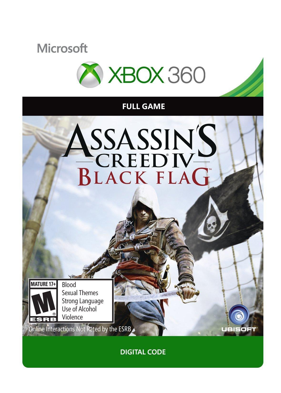 Assassin's Creed IV: Black Flag - Xbox 360 [Digital Code]