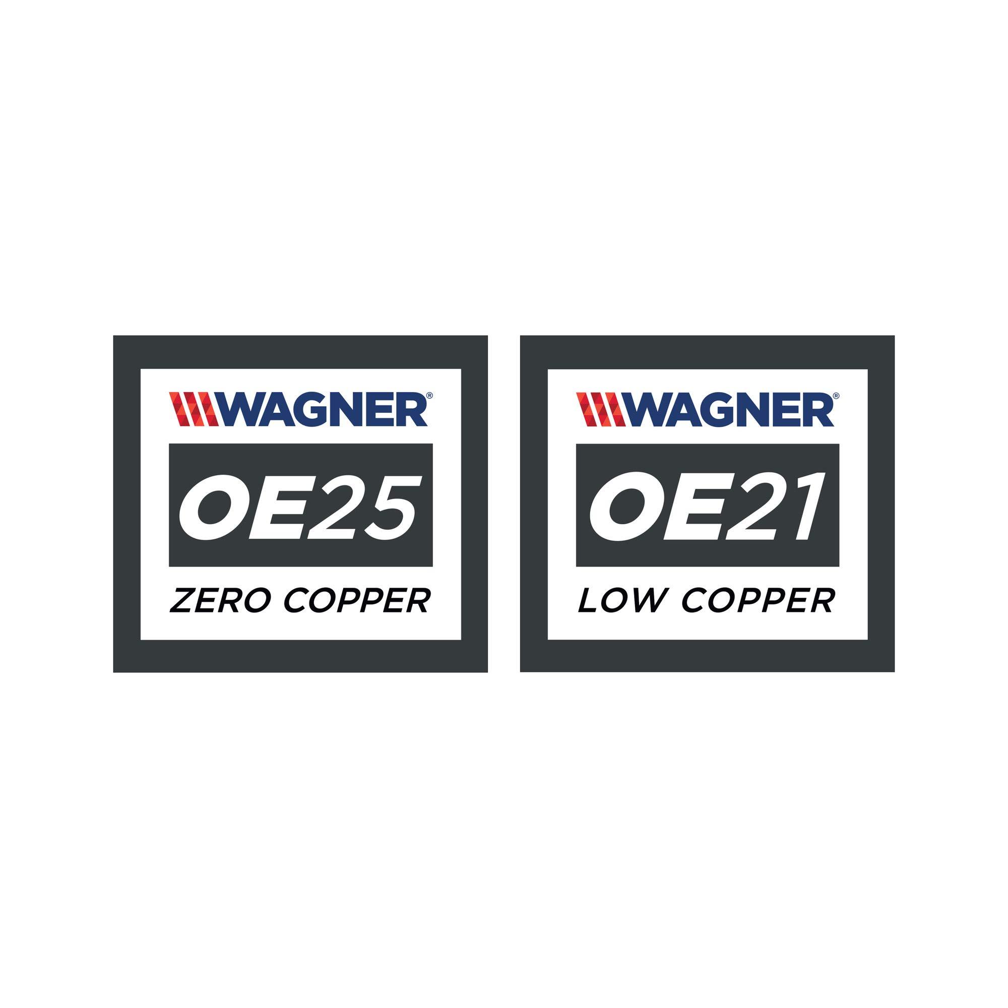 Disc Brake Pad Set-ThermoQuiet Disc Brake Pad Front Wagner QC1396