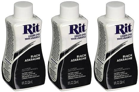 Amazon Rit Dye Liquid Fabric Dye Black 8 Oz Pack Of 3