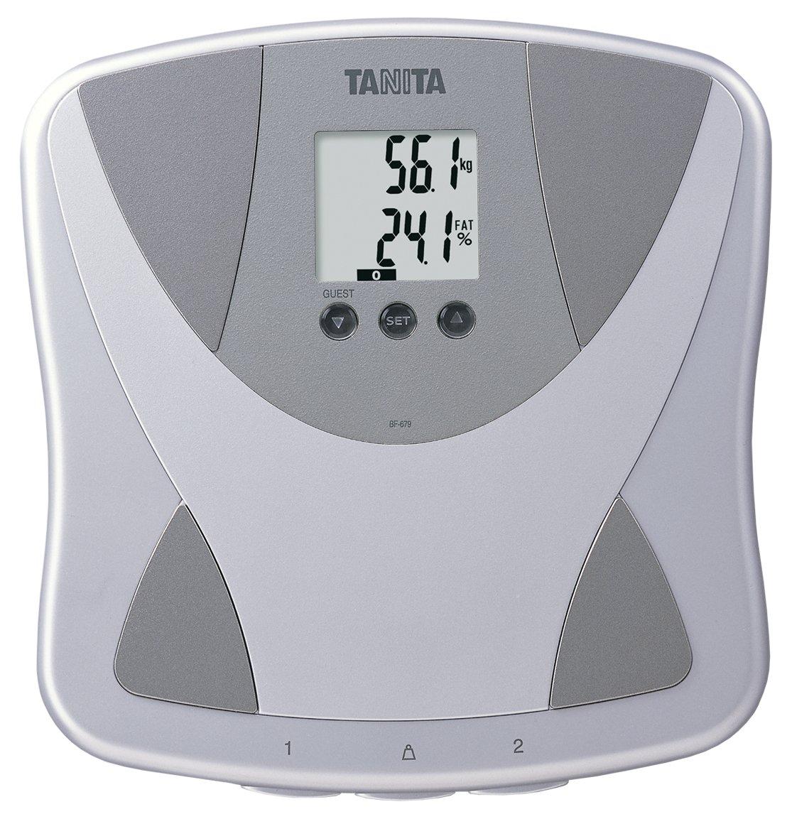 Tanita BF679W Duo Scale Plus Body Fat Monitor with Body Water by TANITA
