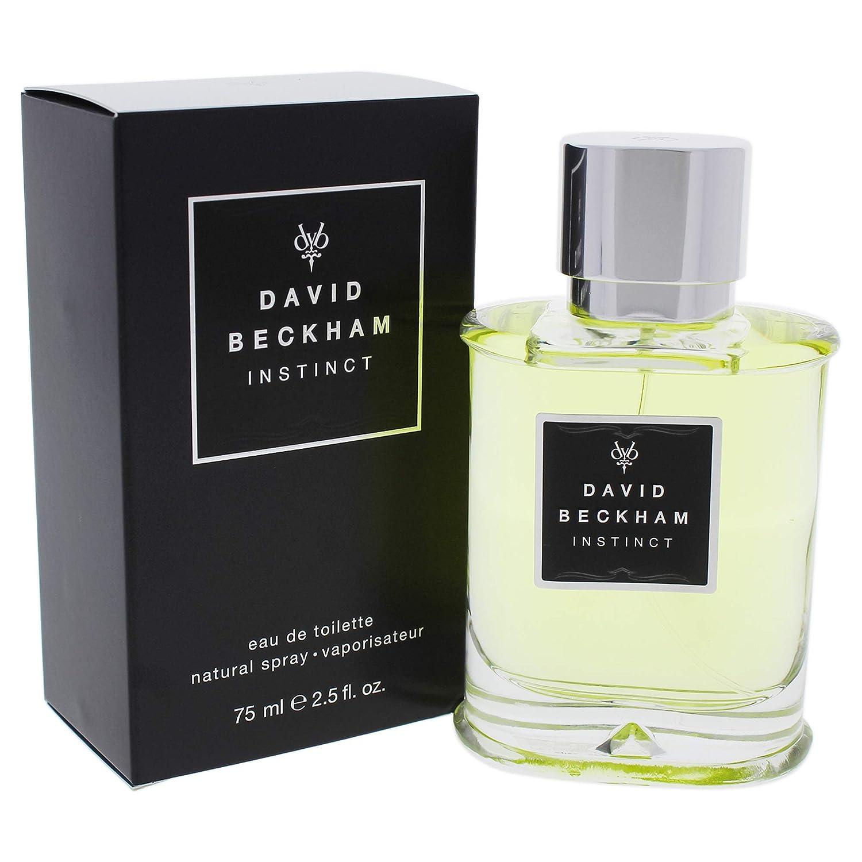 Amazoncom David Beckham Instinct Edt Spray For Men 25 Ounce
