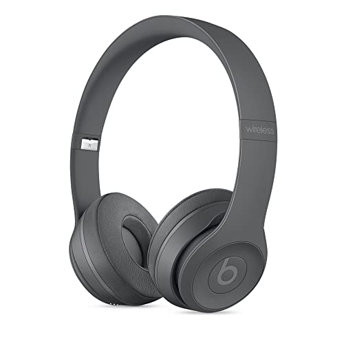 Beats Solo3 Wirelessオンイヤーヘッドフォン – アスファルトグレー