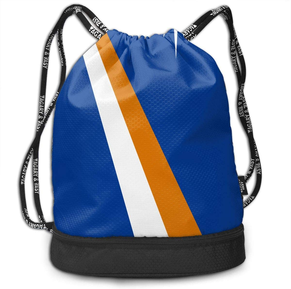 Drawstring Backpack Islas Marshall Flag Rucksack