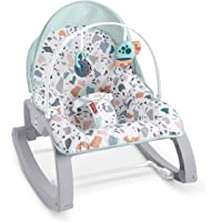 FISHER PRICE Deluxe Infant-to-Toddler Rocker, Multi