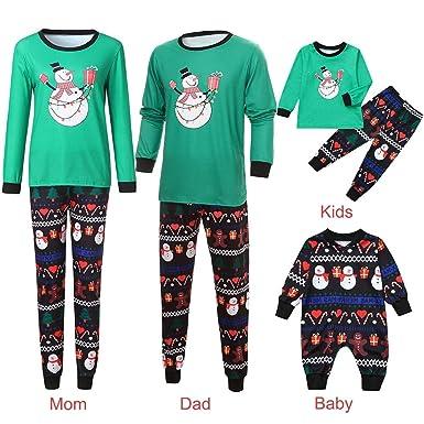 d719f41fb4b 2PCS Family Pajamas Christmas