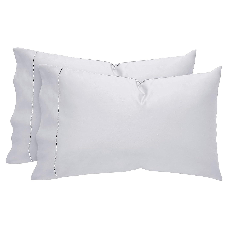 Linen 2DGJH 2DGJH35 Standard Soft and Easy Care Stone /& Beam 100/% Supima Cotton Pillowcase Set