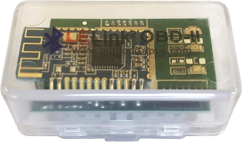 LELink^2 - Herramienta de diagnóstico de coche configurable con Bluetooth de baja energía BLE OBD-II OBD2 para iPhone/iPod/iPad y Android
