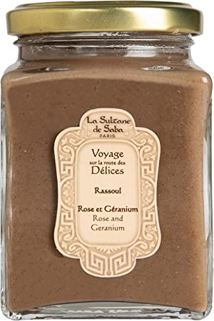 La Sultane De Saba Rassoul Clay Pink Geranium 300g Voyage Sur La Route Des Délices Amazon Co Uk Beauty