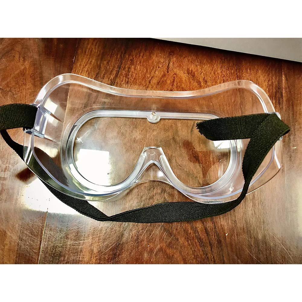 Gafas de seguridad antivaho envueltas de seguridad con impacto ocular selladas 8
