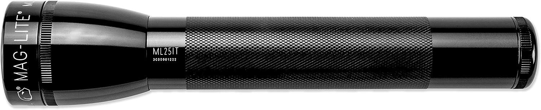 Black Maglite ML25IT Incandescent 3-Cell C Flashlight
