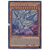 Yugioh Deep-Eyes White Dragon MVP1-ENG05 Gold Rare 1st Ed