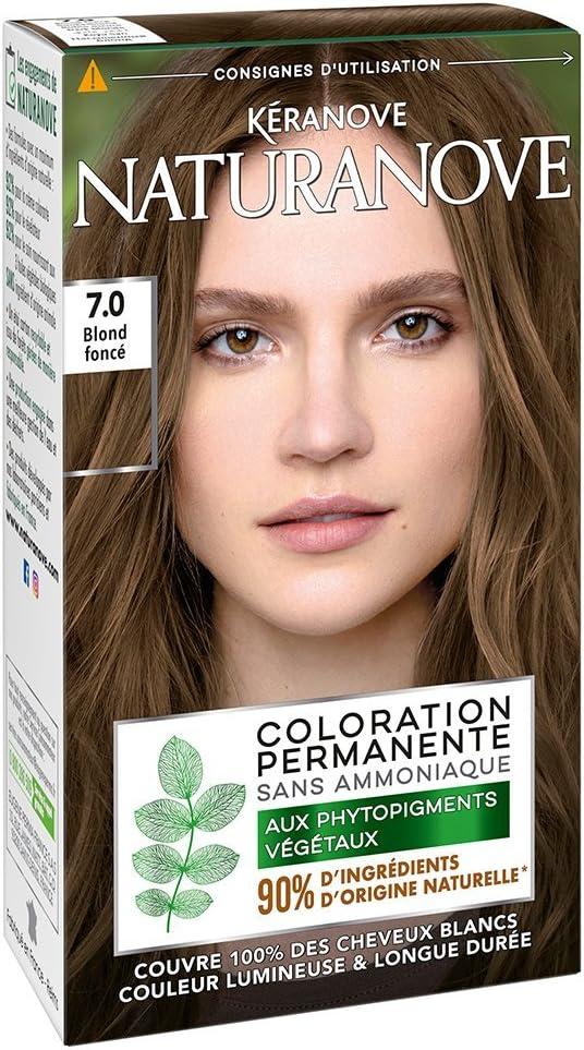 Kéranove 21036401 naturanove Coloración Permanente En Los phytopigments vegetales (Nuance Rubio Oscuro 7.0