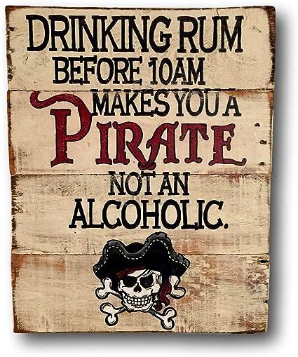 Yilooom Señal de Pirata Bebiendo Ron te Hace un Pirata no ...