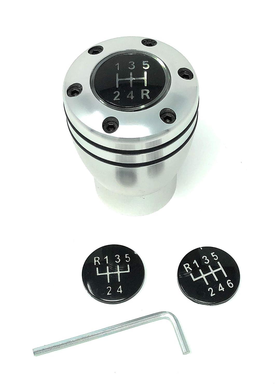 Pommeau de levier de vitesse avec /éclairage LED blanc universel pour v/éhicules avec RGA