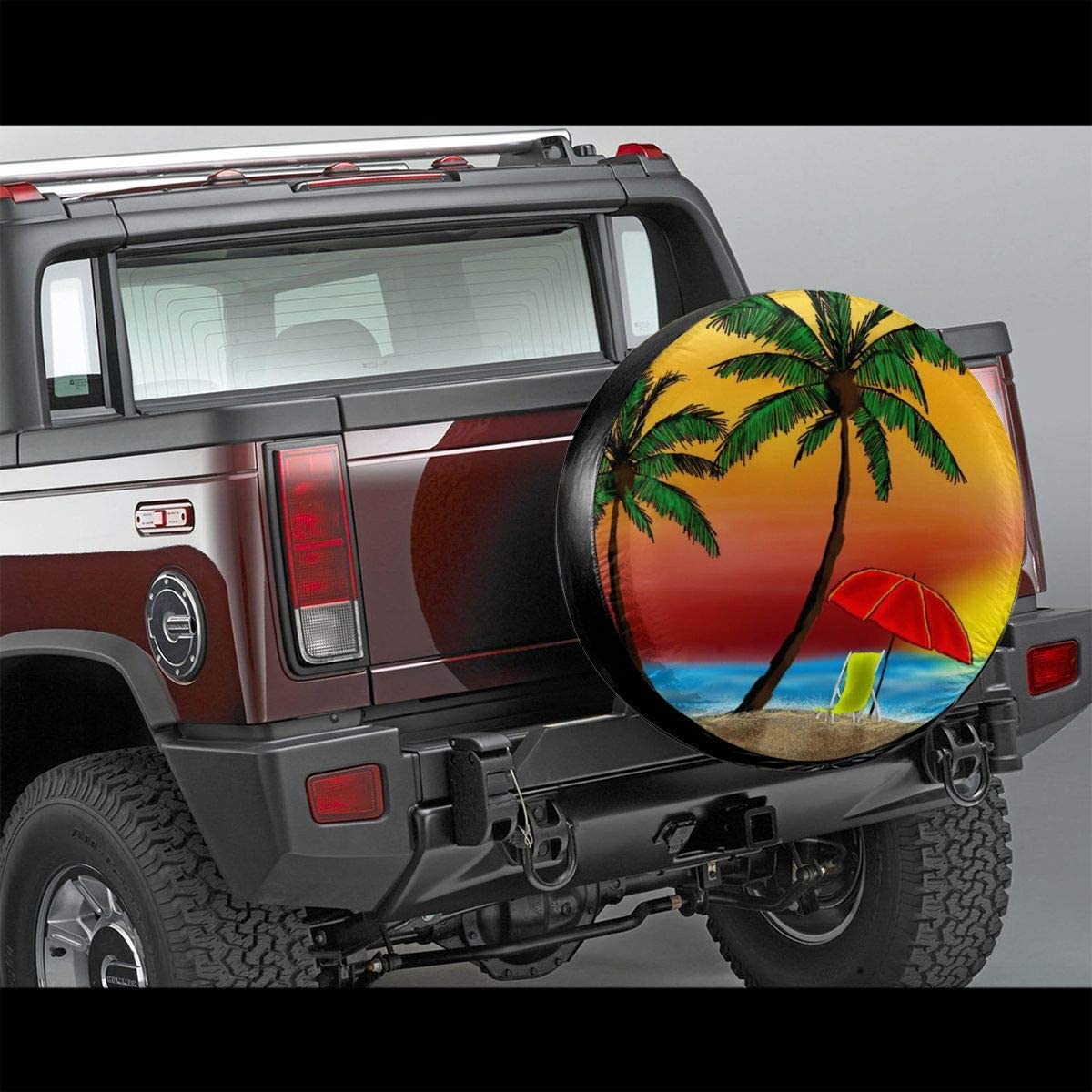 SUV 14,15,16,17 Inch SHOE GONE Car Tire Cover Beach Spare Wheel Tire Cover for Trailer RV Truck Wheel,Camper Travel Trailer Accessories