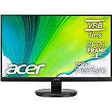 "Acer KB272HL Hbi 27"" Full HD (1920 x 1080) Monitor with AMD Radeon FREESYNC Technology, 75Hz, 1ms (VRB) (HDMI Port 1.4 & VGA"