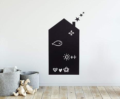 Etiqueta de la pared de pizarra para niños, guardería, habitación ...
