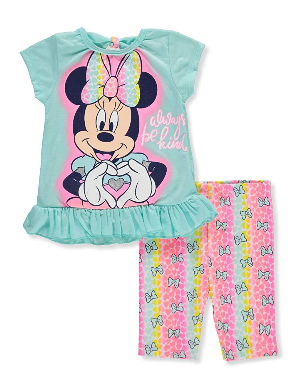 Cookie's Kids Disney Minnie Mouse Girls' 2-Piece Short Set Outfit 3t