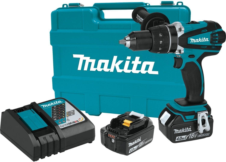 Makita XFD03M 18V LXT Lithium-Ion Cordless 1 2 Driver-Drill Kit 4.0Ah