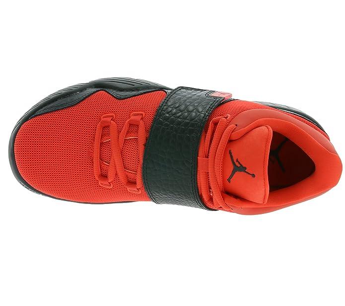 sports shoes 9869c 6c362 NIKE Jordan J23 Men s Sneaker Orange 854557 801  Amazon.co.uk  Shoes   Bags