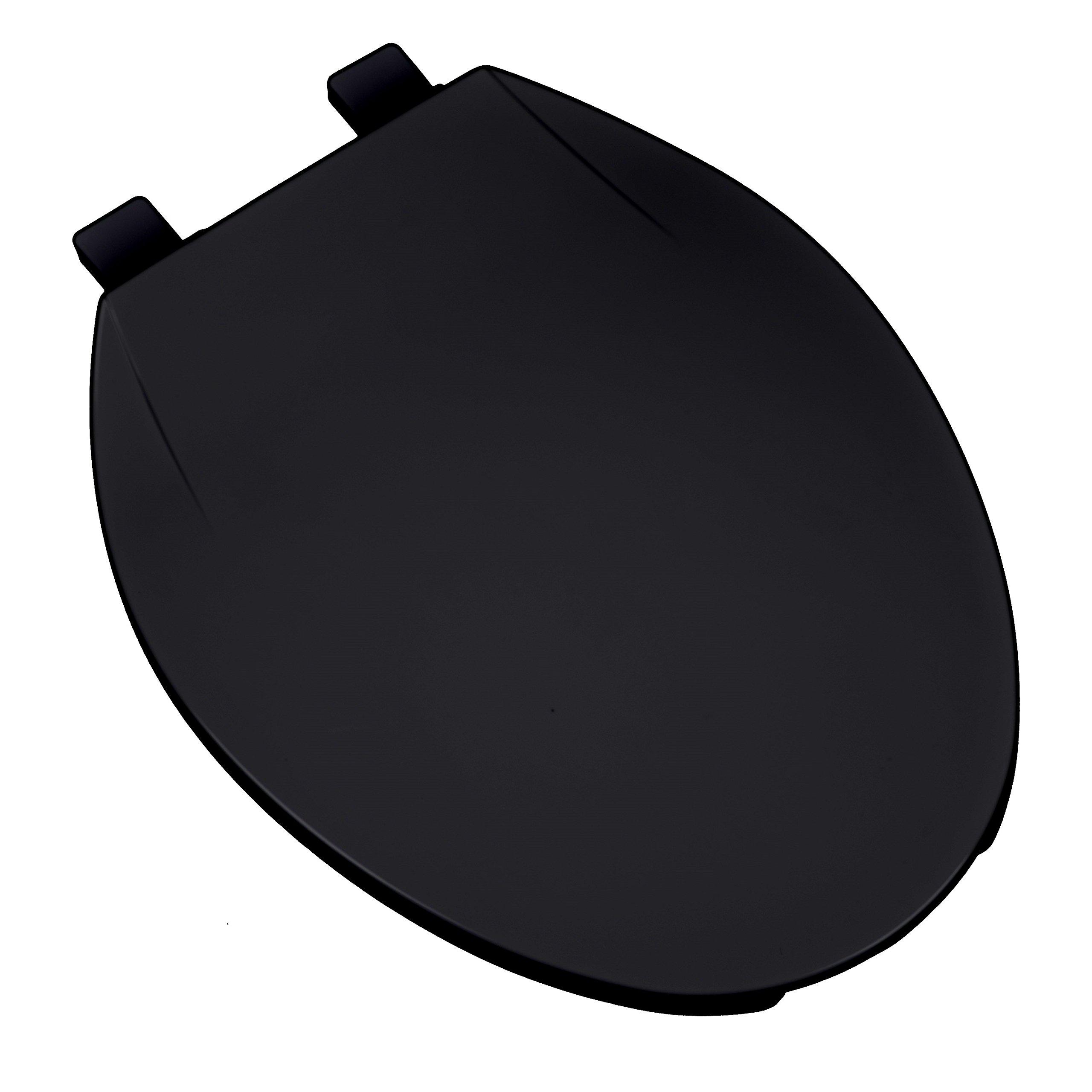 Bath Décor 3F1E1-90 Deluxe Plastic Elongated Toilet Seat with Adjustable Hinge