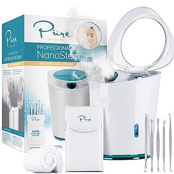 f465c4bcc9f52 NanoSteamer PRO Professional 4-in-1 Nano Ionic Facial Steamer for Spas - 30  Min Steam Time -...