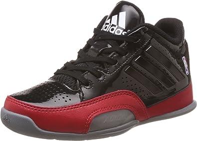 Adidas Performance 3 Series Nba noir, chaussures de basketball enfant