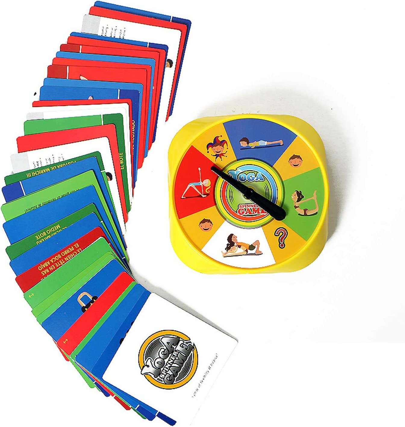 Amazon.com: Board Games Yoga Spinner Board Game for Kids ...