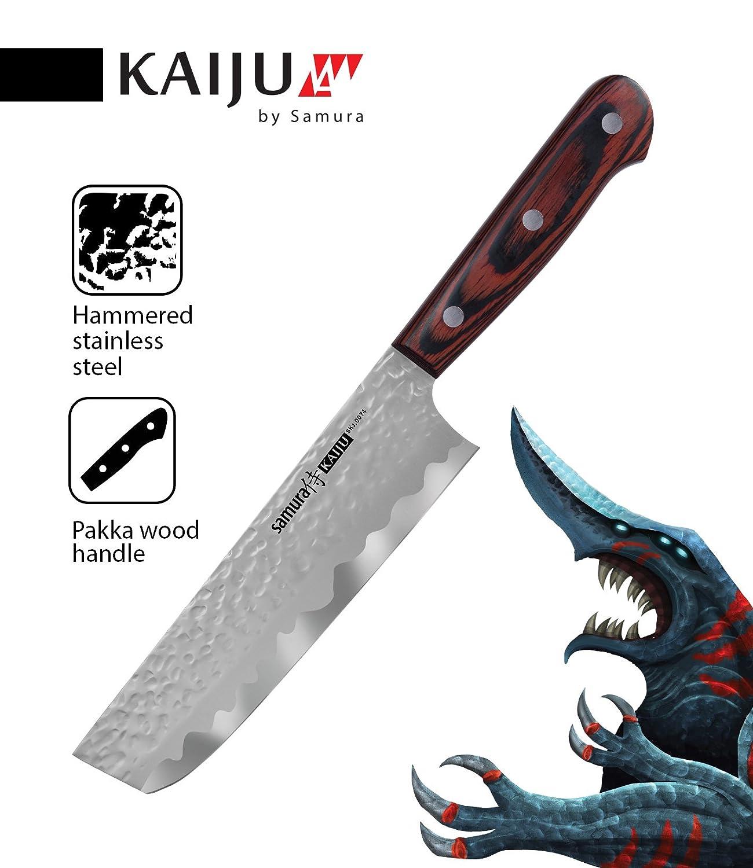 Samura KAIJU Profesional Japonés Cuchillo Nakiri 6,6