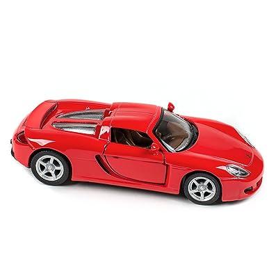 Master Toys & Novelties Porsche Carrera GT Red 5 Inch Die Cast Toy: Toys & Games