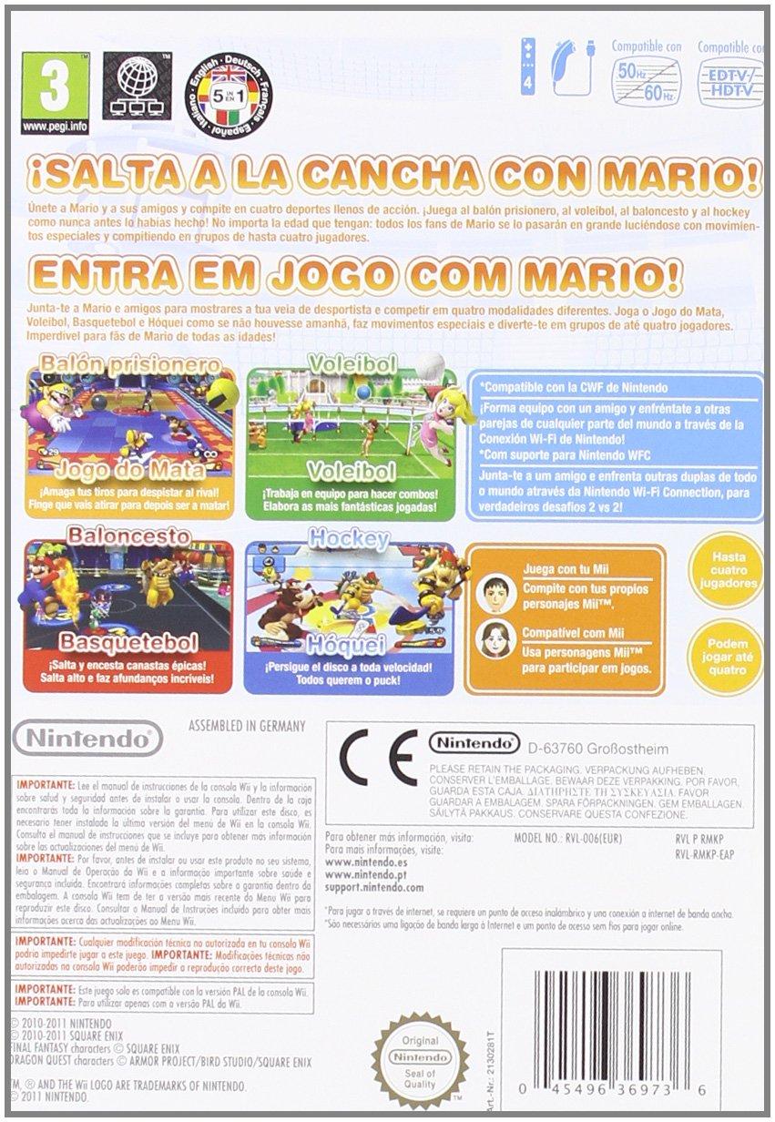 Mario Sport Mix Wii: Amazon.es: Videojuegos