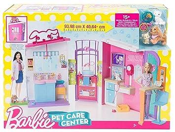 Centro Parque De Juguete Niños Mascota Infantil Niña Barbie Cuidado 3jRq45AL