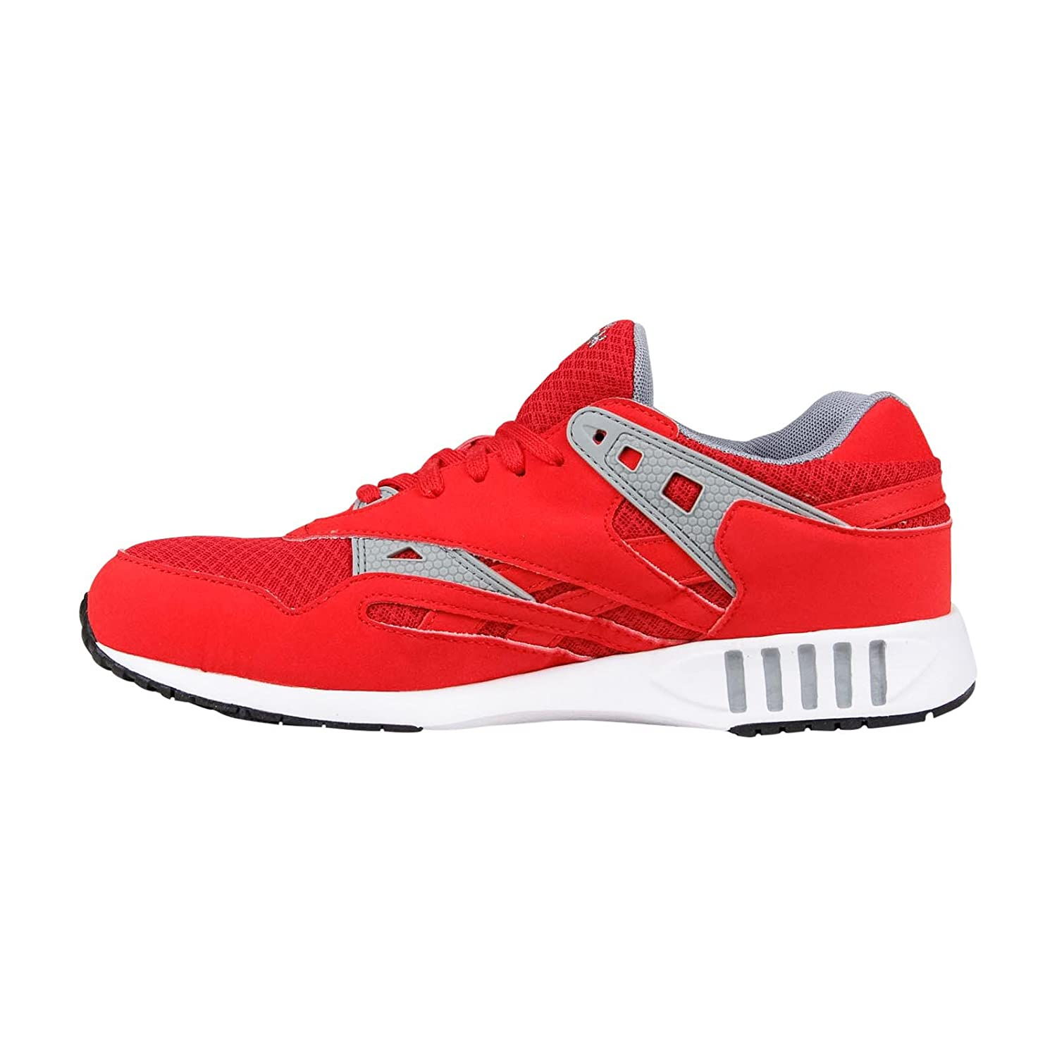 Reebok Mens Running Shoes Size 10.5 M V55119 Sole Trainer Red Synthetic-And-Mesh B00PBH87HA 8 D(M) US
