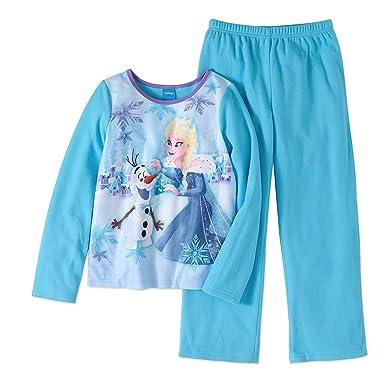 f735f8eb1 Amazon.com  Frozen Princess Elsa and Snowman Olaf Flannel 2 Piece ...