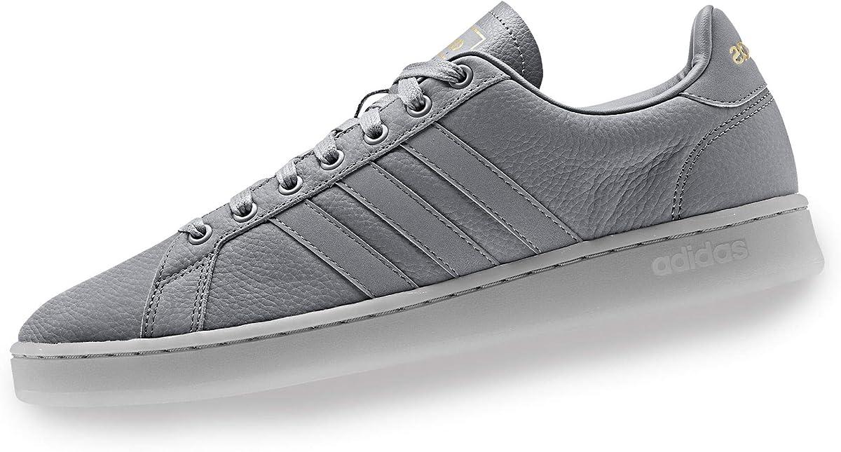 adidas Grand Court Sneakers Herren Grau m. Gold