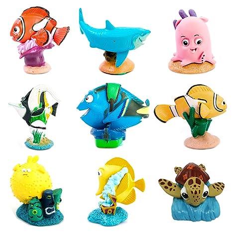 Buscando a Dory, Nemo decoración de Acuario, Resina pecera Tank Adornos Cartoon películas Clownfish