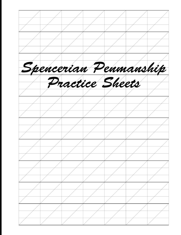 - Spencerian Penmanship Practice Sheets: Cursive Style Handwriting