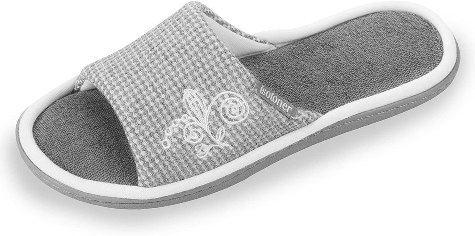 Femme Nid Sandales D'abeille Chaussons Coton f7y6Ygvb