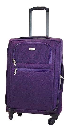 Mixte Éclair Bagage Trolley Roue Violet Utopia Poignée Plume Toile Roulettes Legère Femme Télescopique Homme Valise 360° Fermeture WH9IDE2Y