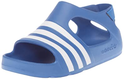 3d9987ea973e adidas Originals Adilette Play I V24244 Children s Sandals Blue Size ...