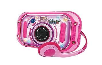 Amazon.es: VTech Kidizoom Touch 5.0 Cámara de fotos digital infantil color rosa versión española (80-163557)