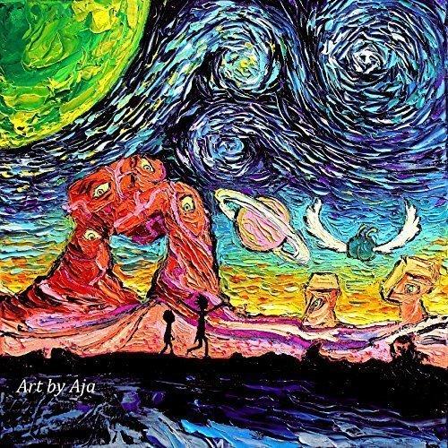 Space Art CANVAS print van Gogh Saw Another Dimension art...