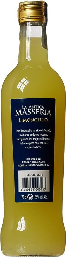 Limoncello a.masseria 70cl 25º: Amazon.es: Alimentación y bebidas