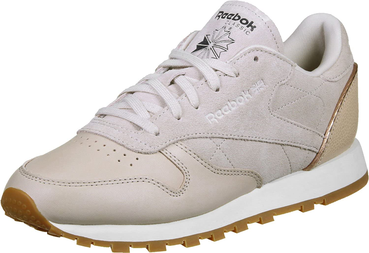 Reebok Classic Leather Golden Neutral Damen Turnschuhe Nude