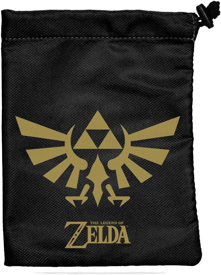 Dice Bag: Zelda: Black and Gold 714FJ2DJ7KL
