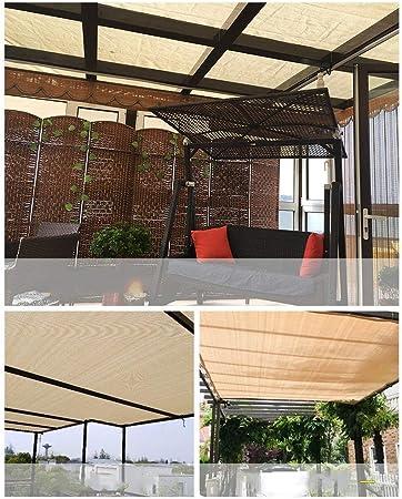 YaPin - Malla aislante para el borde del balcón, jardín, protección solar, para el techo, aislamiento, sombra y sombra (170 g/m, grosor del marco: 0,2 mm): Amazon.es: Hogar